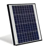 ALEKO PP50W12V 50 Watt 12 Volt Polycrystalline Solar Panel for Gate Opener Pool Garden Driveway