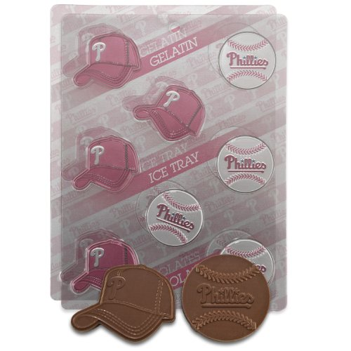UPC 847504063618, MLB Philadelphia Phillies Candy Mold (Pack of 2)