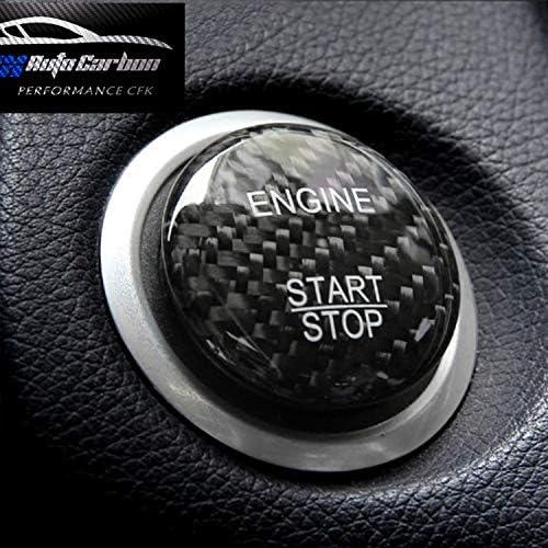 Max Auto Carbon Echt 100 Carbon Start Stop Knopf Button Cover Passend Für Amg A45 Cla45 Gla45 C63 C43 C63s E63 S63 Glc Slk Cls Cla E Auto