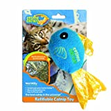 100-Percent Catnip Filled Fish Cat Toy, Wet Willy, My Pet Supplies