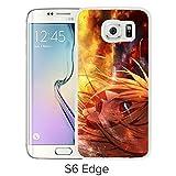 Fashion Designed Attack on Titan 16 White Samsung Galaxy S6 Edge Phone Case