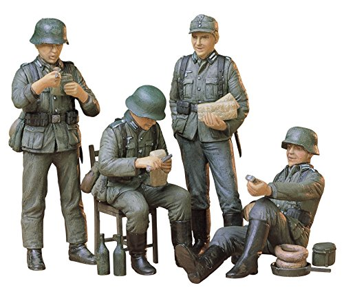 Tamiya 1/35 German Soldiers-Rest