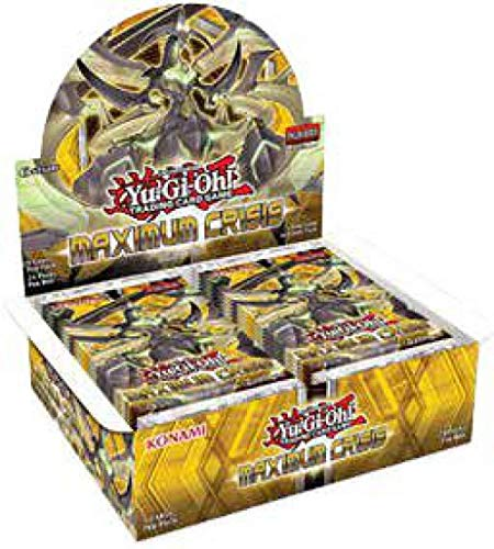 Yugioh Maximum Crisis 1st Edition English Booster Box from Yugioh