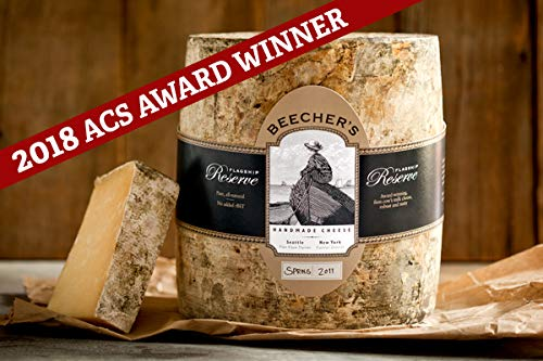 Beecher's Handmade Cheese - Flagship Reserve - Authentic, All-Natural and Additive Free (6-pack, 7 oz each)
