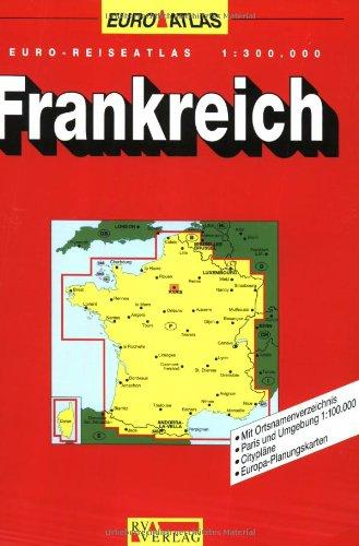 RV Euro-Reiseatlas 1:300 000 Frankreich (Spiralbindung)