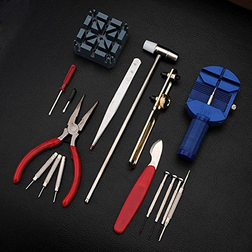 Delaman 16pcs Watch Repair Tool Watchmaker Kit for Changing Watchband & Replacing Battery by Delaman (Image #6)
