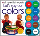 Let's Say Our Colors, Roger Priddy, 0312506430