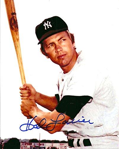 Hal Lanier Autographed Yankees 8 x 10 Photo