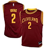 OuterStuff Kyrie Irving Cleveland Cavaliers NBA Youth Red Burgundy Road Replica Jersey (Youth Small 8)