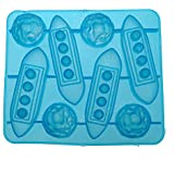 Bazaar Silicone Titanic Shaped Ice Cube Trays Carving Mold Cookie Mold Multifunction Bar Tool