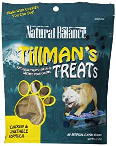 Natural Balance Training Tips Chicken Vegetable Dog Treats (6-Ounce Bags)