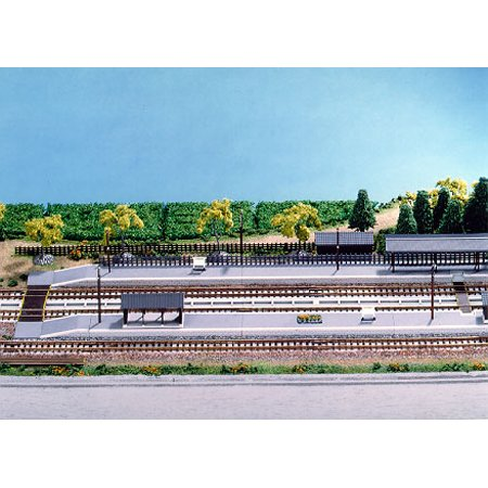 Rural Set Station Platform Kit Set Rural (Model Train) f75b78