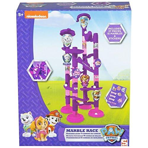 Original Paw Patrol Marble Race Game, Officiel Licencié
