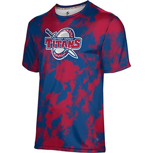 ProSphere University Of Detroit Mercy Boys' Shirt - Grunge hot sale