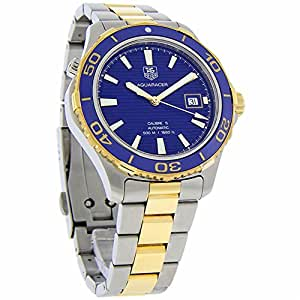 Tag Heuer Aquaracer automatic-self-wind mens Watch WAK2120.BB0835 (Certified Pre-owned)