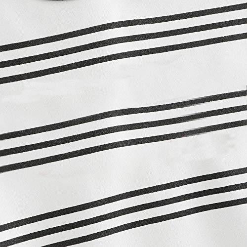 Hoodie Rond Capuche Long Robe Sweatshirt Cou Tops Chemisier Manches Pull Sans à Stripe Sweatshirt Capuche Bateau Longues Sweat Blanc Petit Femme Femme Beautyjourney Pull Patchwork Hoodie Sweat Shirt PAqSB