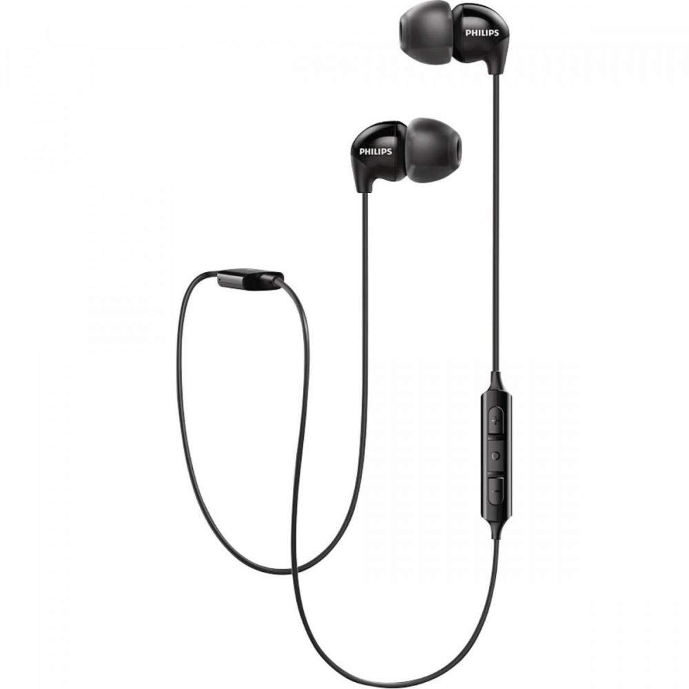 [Apply coupon] Philips UpBeat SHB3595BK/10 Wireless Bluetooth Headphones with 6 Hour Play Time, 8.6 mm Drivers and Built-in Mic with Echo Cancellation (Black)