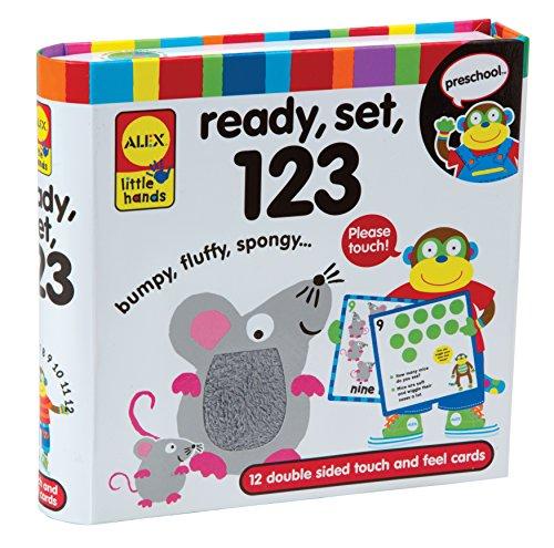 ALEX Toys Little Hands Ready Set 123 Alex Toys Ready Set