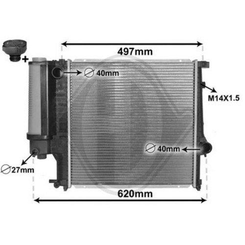 Diederichs DCM1535 Radiator, radiator: