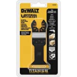 DEWALT Dwa4204 Wide Titanium Oscillating Wood with Nails Blade
