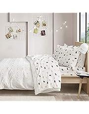Intelligent Design Cozy Soft 100% Cotton Flannel Novelty Print Animals Stars Cute Warm Ultra Soft, Cold Weather Bed Sheet Set Bedding,