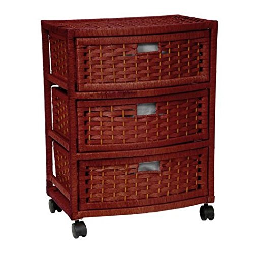 Storage Unit On Wheels Handmade With Drawers - Mobile Rol...