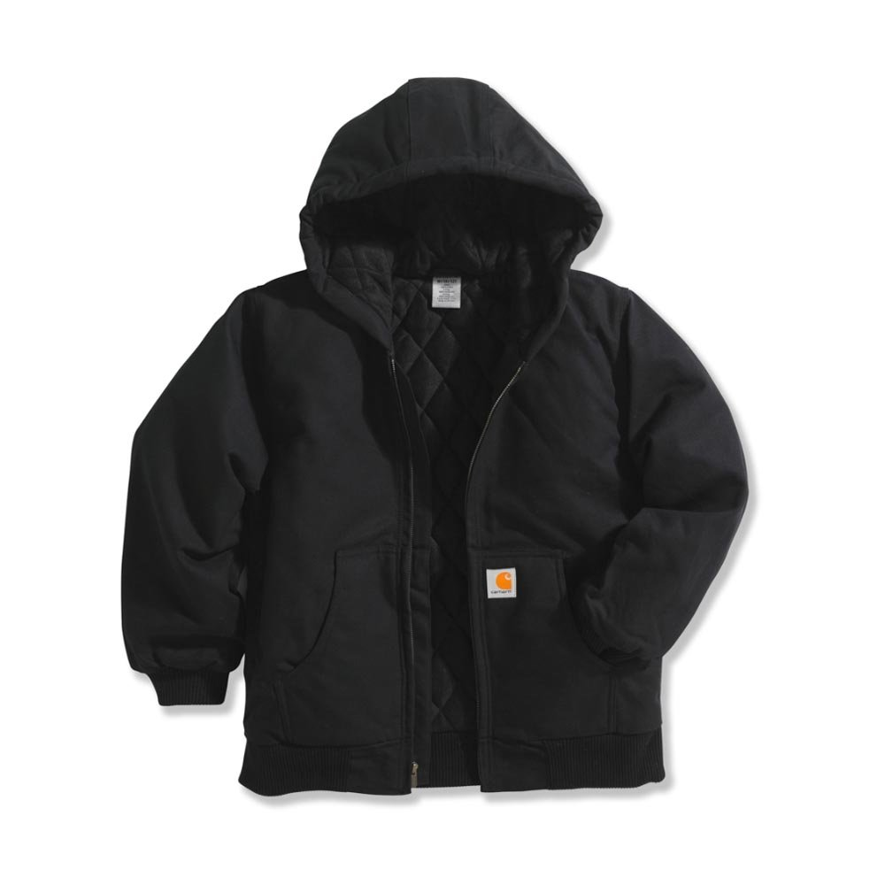 e012c04b7 Galleon - Carhartt Big Boys  Active Quilted Flannel Lined Jacket ...