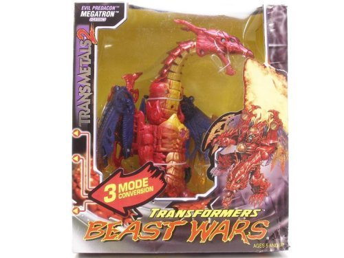 Transformers Beast Wars Evil Predacon Megatron Dragon Action Figure