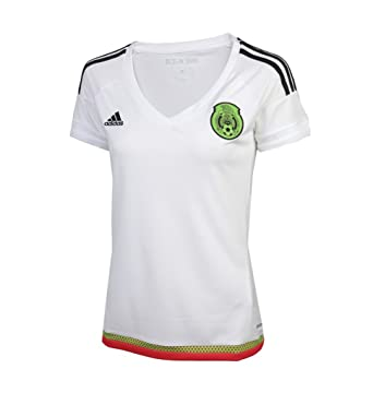 acf54b53f97 Amazon.com  FMF MEXICO WOMEN AWAY JERSEY 2015  Clothing