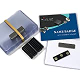 CMS Magnetics® 24 Name Badges with 3MAG-1 Magnetic Attachments (3 x 4) - DIY