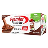Premier Protein Nutrition High-Protein Shake, Chocolate, 18/11-Ounce, 18-Count