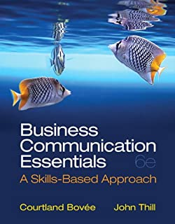 Business communication essentials 7th edition bovee test bank.