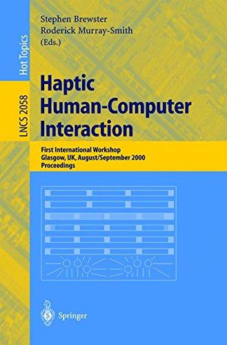 Haptic Human-Computer Interaction