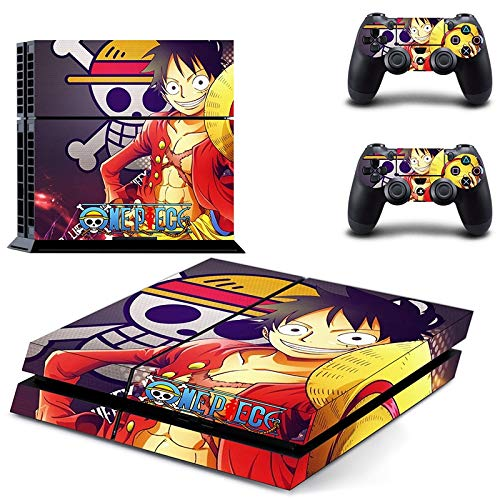 Regular Ps4 Console Controllers Anime One Piece Luffy Vinyl Decal Skins Stickers Video Games & Consoles
