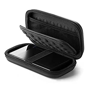 UGREEN External Hard Drive Case Bag, Travel Electronic Accessories Organizer Bag For 2.5 Inch Hard Drives, like Estern Digital, Toshiba, Seagate and Power Bank, USB Cable, Earphone, Cards and More.