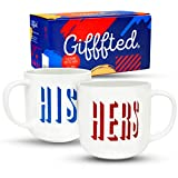 Best Gifts For Newlyweds - Gifffted His and Hers Anniversary Coffee Mugs For Review