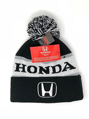 Honda Branded Knit Beanie Skullcap Officially Licensed Merchandise  White
