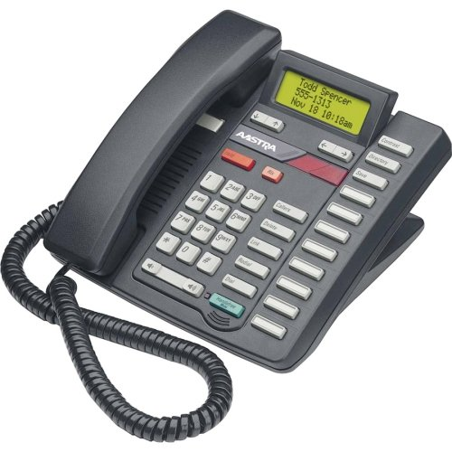 Aastra Analog Phones - Aastra 9417CW Standard Phone - Black