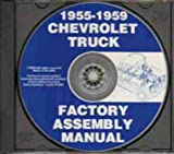 1958 CHEVY & GMC PICKUP TRUCK UNABRIDGED FACTORY ASSEMBLY INSTRUCTION MANUAL CD-ROM - INCLUDING: C10, C20, C30, C1500, C2500, C3500, K5, K10, K20, K30, K1500, K2500, K3500, stakebed, Suburban, full-size Blazer, full-size Jimmy CHEVROLET 58