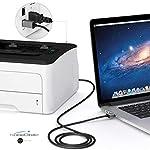 KabelDirekt-Cavo-USB-B-20-5m-connettore-USB-A-e-USB-B-da-Usare-Come-Cavo-per-Stampante-Scanner-o-fax-Colore-NeroSpace-Grey-PRO-Series