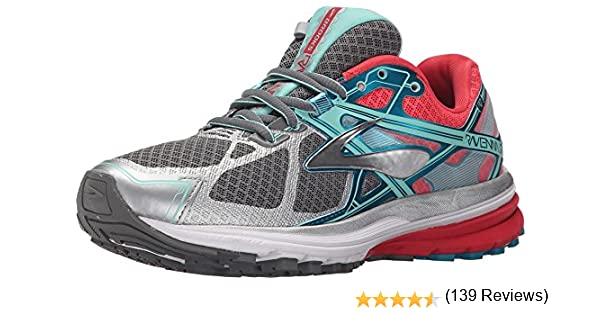 Brooks - Ravenna 7-120208 1B 127, Zapatillas de Running para Asfalto Mujer, Gris (Smokedpearl/Paradisepink/Capri 127), 44 EU: Amazon.es: Zapatos y complementos