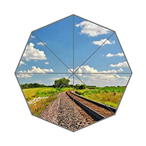 Beauiful Clear Nature Customized High Quality Art Prints Umbrella