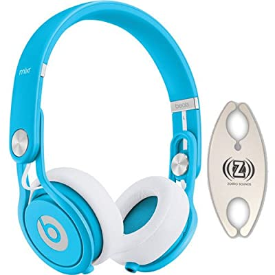 Beats by Dr. Dre Mixr Blue DJ Headphones Carry Pack with Wire Holder