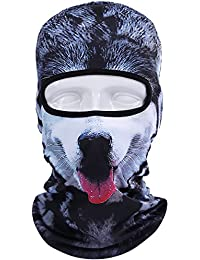 3D Animal Balaclava Face Mask Breathable Outdoor Sports Motorcycle Cycling Snowboard Hunting Ski Cat Dog