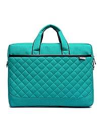 ZYSTERT 15.6-Inch Laptop Bag Shoulder Bag With Strap Multi-Compartment Messenger Hand Bag Briefcase for Laptop / iPad Pro / Tablet / Macbook / Ultrabook / Men / Women - Green