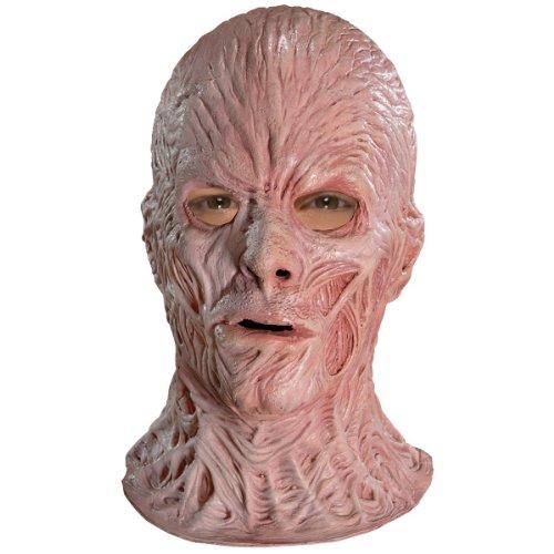 Rubie's A Nightmare On Elm Street Deluxe Freddy Krueger Overhead Latex Mask, Brown, One Size ()