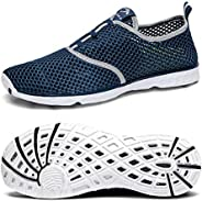 Belilent Mens Womens Aqua Water Shoes Quick Drying for Athletic Beach Sport Hiking Swim