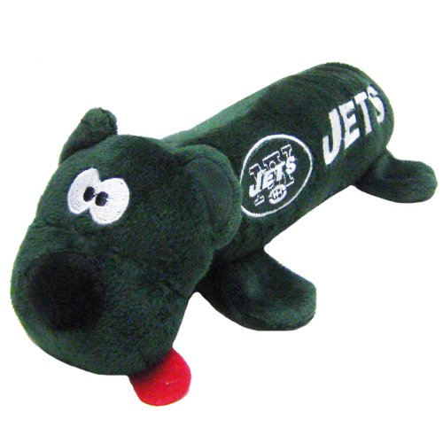 Pets First NFL Pet Tube Toy, New York Jets