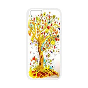 High quality love tree Pattern Hard Case Cover Back Skin Protector for For iphone Case 6 5.5 Inch FKGZ505636