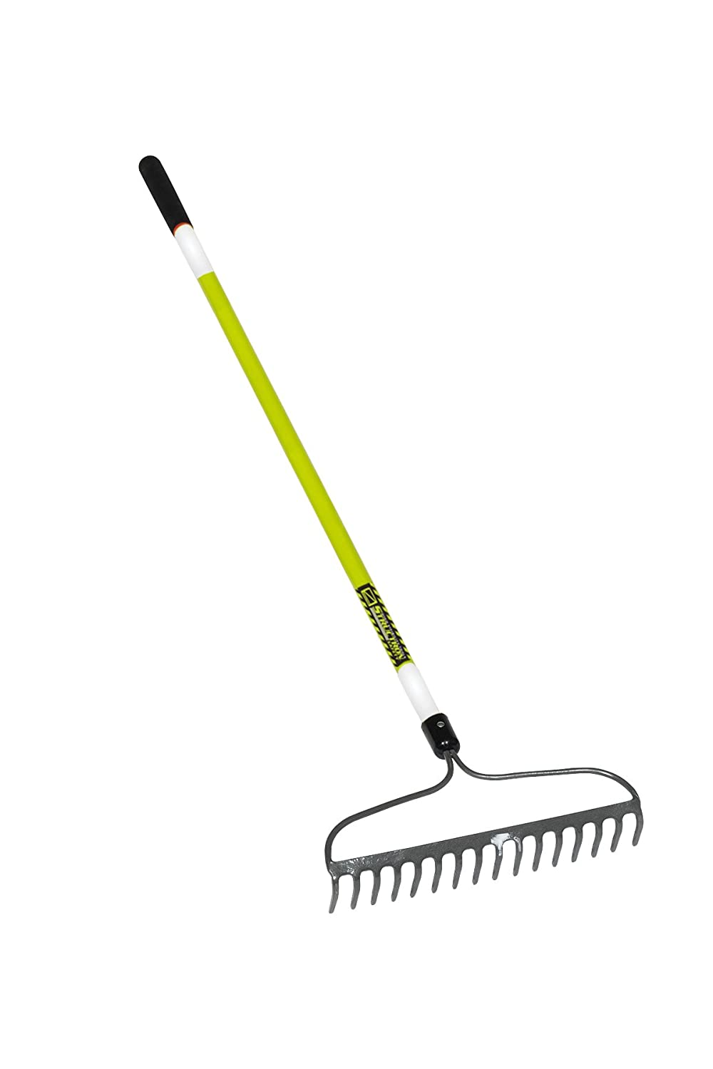 Seymour MIDWESTStructron 49754 Bow Rake with 3M Retroreflective Tape 16 in Steel Head